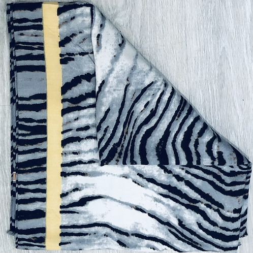 Zebra  Cotton Mix Scarf