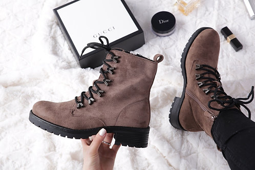 Lace Up Combat Style boots