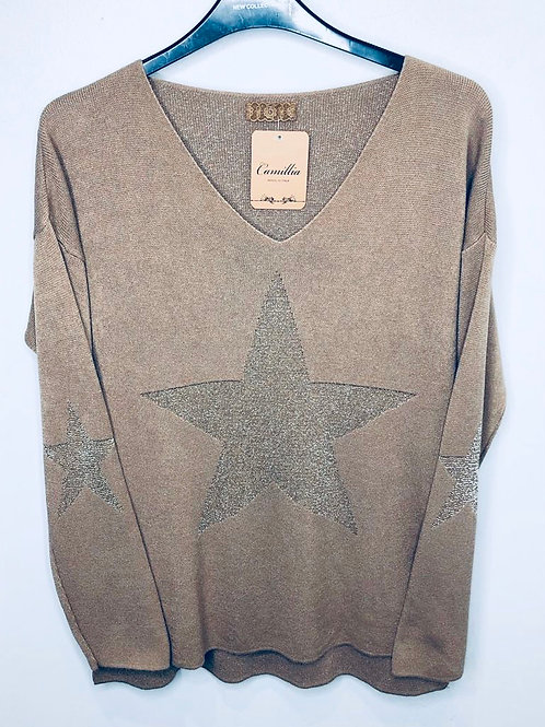 Sparkle Star Top