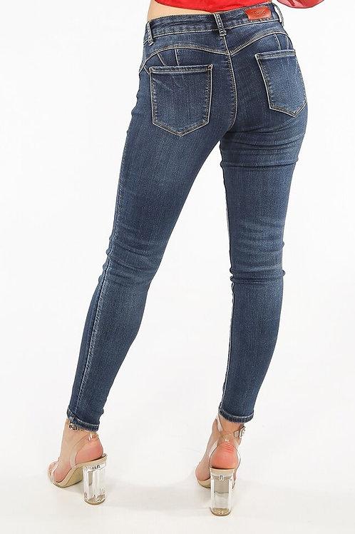 Toxic Push Up Skinny Jeans