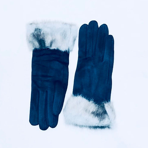 Fur Cuffed Gloves