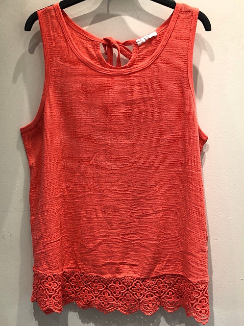 Crochet Sleeveless Cotton Vest