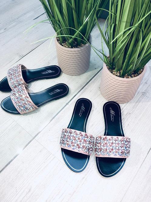 Diamanté Slides