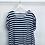 Thumbnail: Navy/White Stripe Linen Top