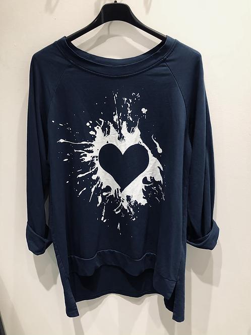 Heart Splash Top