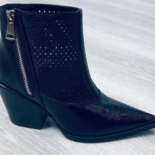 Dallas Faux Leather Ankle Boot