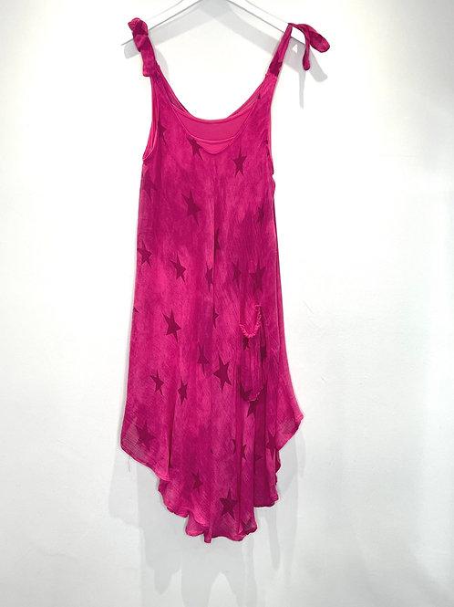 Star Pocket Dun Dress