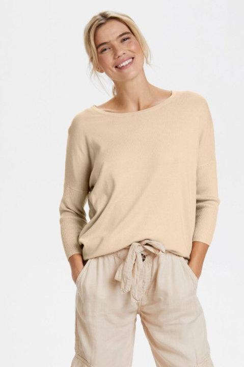 Saint Tropez Basic Sweater