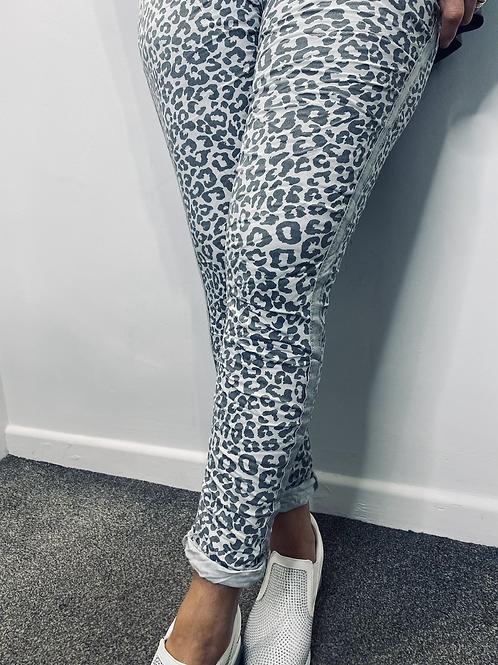 Animal Print Sparkle Magic Trousers