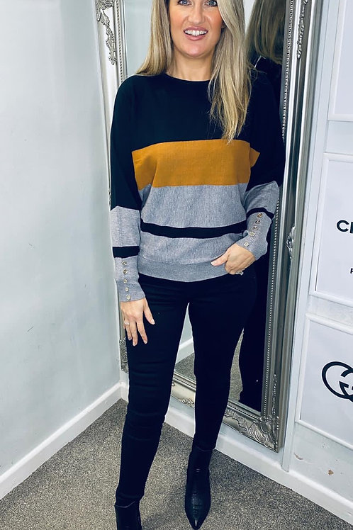 Bluoltre Stripped Jumper