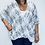 Thumbnail: Oversized Linen Wrap Top