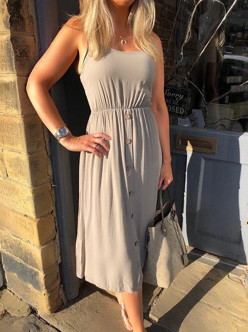 Button Front Sun Dress