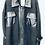 Thumbnail: Fleece Faux Leather Combo Jacket