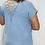 Thumbnail: Crochet Back Short Sleeve Top
