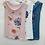 Thumbnail: Flower Print Cowl Neck Top