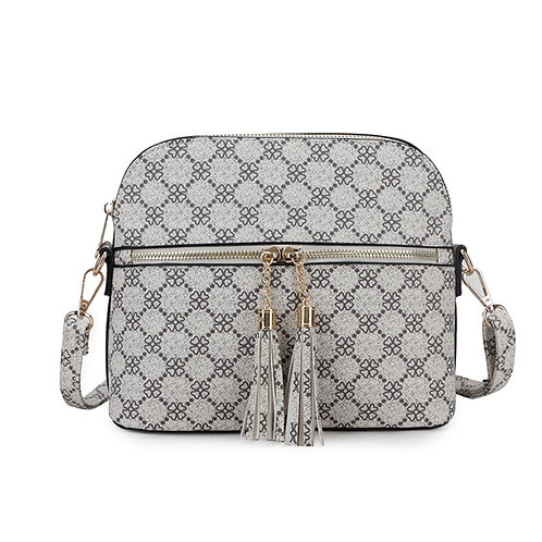 Designer Inspired Zip Bag