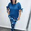 Thumbnail: Blue Camouflage Joggers