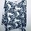 Thumbnail: Oversized Filigree Print Linen Top