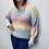 Thumbnail: Pastel Rainbow Soft Knit Jumper