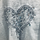 Thumbnail: Sequin Heart Top