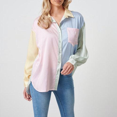 Pastel Stripe Shirt