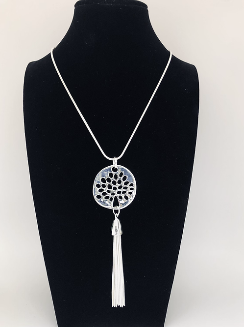 Tree of Life Tassel Necklace