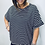 Thumbnail: Oversized Zip Detail T-Shirt Top