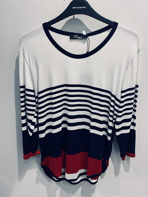 Peruzzi Stripe Top