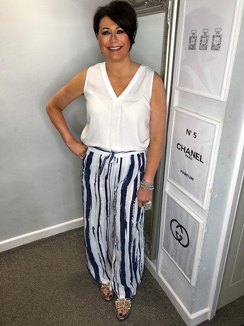 Stripe Lightweight Trousers