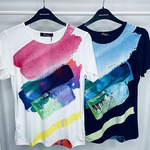 Peruzzi Colour Block T-Shirt