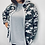 Thumbnail: Camouflage Hooded Jacket
