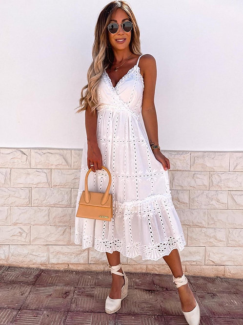 Tiered Broderie Anglaise Sun Dress