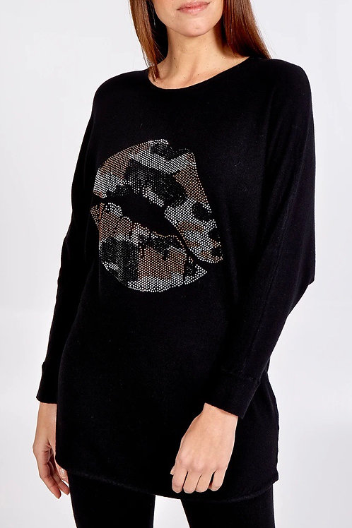 Camouflage Lips/Star Lounge suit