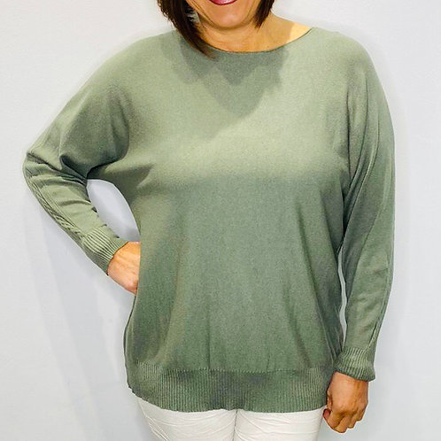 Cable Patterned Soft Knit Top