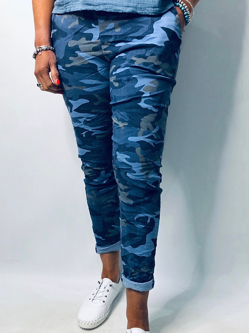 Camouflage Print Magic Trousers