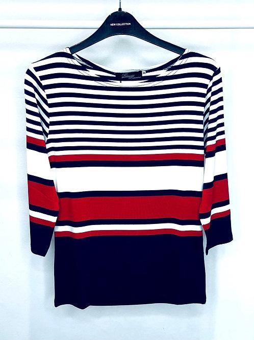 Peruzzi Colour Stripe Top