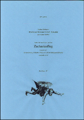 The Flight of Zechariah. An Action, 1992