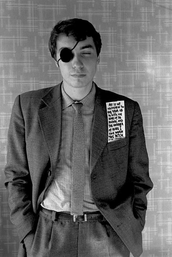 """Vadim Zakharov """"Eye Patch"""", 1983"""