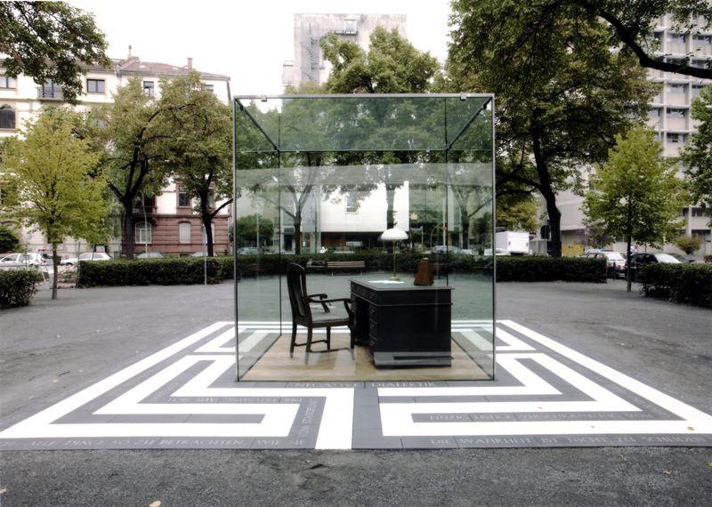 Adorno Monument by Vadim Zakharov