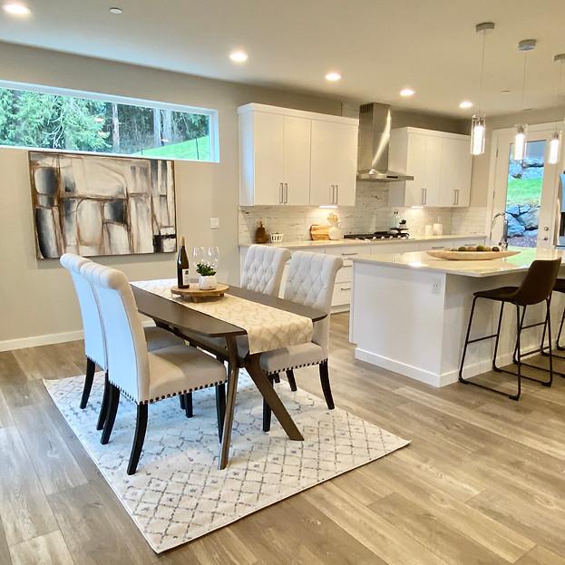 home staging seattle modern kitchen