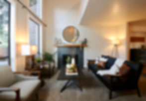 occupied home staging furniture arragement decor edmonds