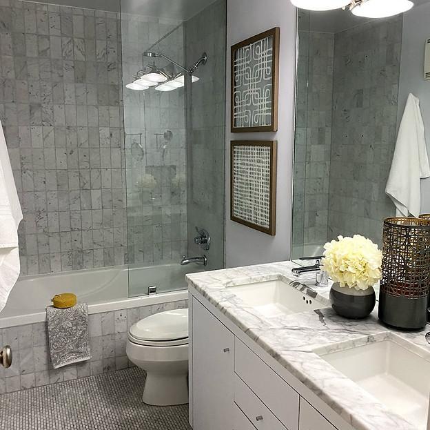 seattle snohomish, wa staging company bathroom
