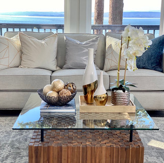 whidbey island waterfront view living room