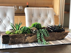 Home staging seattle details dining table succulents