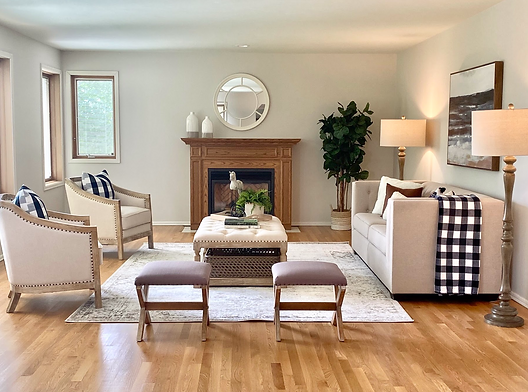 home staging redmond woodinville modern farmhouse