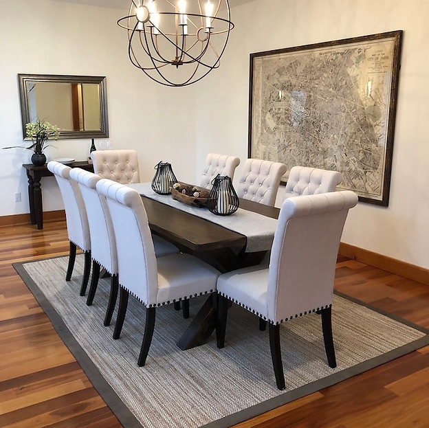 home staging in seattle snohomish, wa dining room