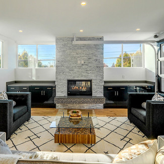 seattle home staging Modern living space