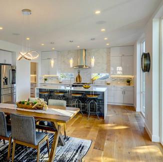 seattle home stager modern kitchen