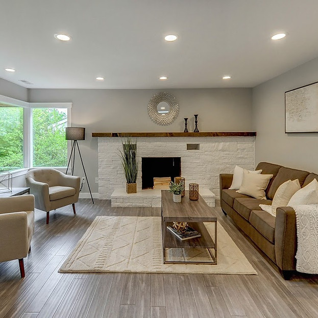 home stager seattle  living room