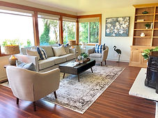 vacant home staging edmonds waterfront view